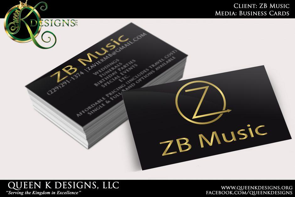 Queen K Designs, LLCBusiness Cards – Queen K Designs, LLC